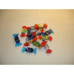 bonbons carrés en verre
