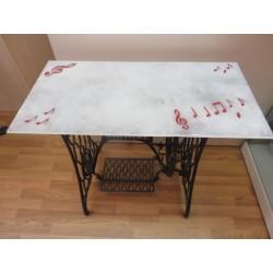 PLATEAU EN VERRE POUR TABLE 45X90