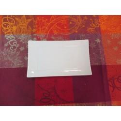 assiette rectangulaire APSARA 20X12