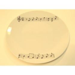 Assiette à Gateau Musicale