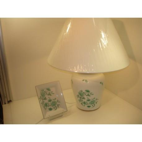 pied de lampe décoré chinois