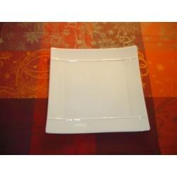 assiette carrée APSARA 19X19