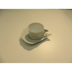 TASSE A THE ET SOUCOUPE GINKO
