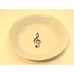 Assiette Creuse Musicale