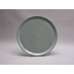 Plat à tarte celadon  diam 32cm