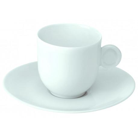 paire  tasse à café avec anse 8cl modèle galet